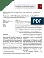 Antibacterial Cobre Oxido