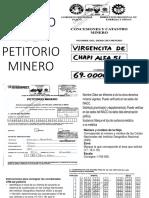 Ejemplo de Petitorio Completo