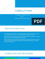 Konsep Syumuliyyah