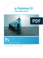 Photoshop Video Editing