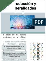 Introducción y Generalidades de La Biología Molecular