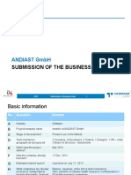 Submission of the Business Idea