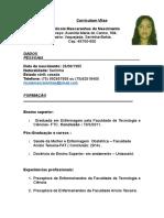Curriculum Vitae - Atual Nic