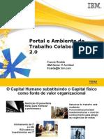 IBM - Portal e Ambiente de Trabalho Colaborativo 2.0 - 80p