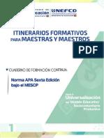 Rev_1_La Norma APA 6ta. Edición Bajo El MESCP
