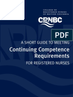 CRNBC Continuing Competence