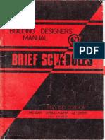 Brief Schedules-2nd Edition