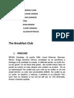 The Breakfast Club Scenariu