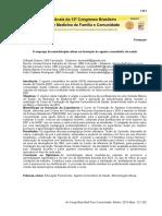 Metodologias ativas na formação do agente comunitários de saúde