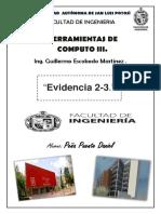 Evidencia 2-3