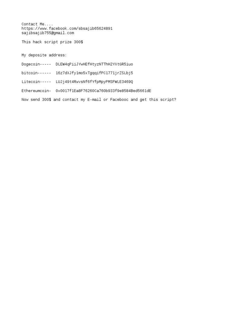 Freebitcoin 10000 roll hack script 2018.txt