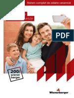 Catalog Porotherm 2019