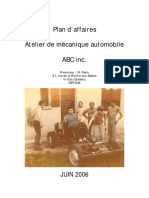 Plan d'affaires