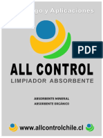 Aplicaciones y Catalogos de Absorbentes All Control