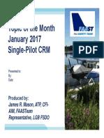 17-01 Single Pilot Crm