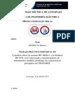 Normas IEC Y BS 3938