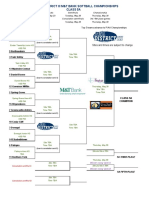 2019 PIAA District-III Class 5A softball brackets