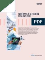 Industry 4.0 Evolution