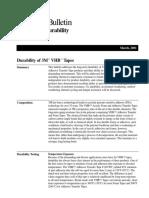 VHB Durability
