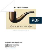 ART 104-502 Syllabus SU 2019