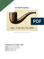 ART 104-501 Syllabus SU 2019
