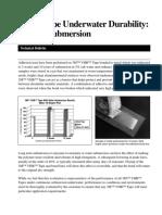 3M_ VHB 4945 Tape Underwater Durability10 Year Submersion