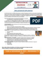 INSTRUCTIVO DE SEGURIDAD N° 298 MANIPULACION DE EXPLOSIVOS.docx
