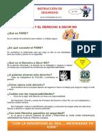 INSTRUCTIVO DE SEGURIDAD N° 312 PARE Y EL DERECHO A DECIR NO.docx