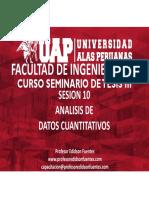 Sesion 10 Analisis de Datos Cuantitativos