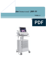 english user manual of JHF-53 (HIFU).docx