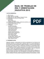 PLAN ANUAL DE TRABAJO DE TUTORÍA Y ORIENTACIÓN EDUCATIVA 2015.docx