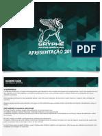 Gryphe Artes Gráficas - Apresentação 2019