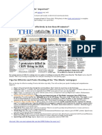 how to read the Hindu.docx