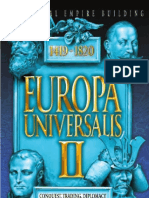 Europa Uniersalis 2 II Manual