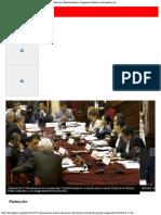 Fujimorismo Archiva Las Denuncias Contra Chávarry y Becerril Fuerza Popular C