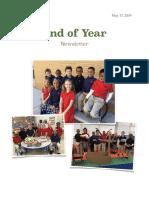 final newsletter 2018 - 2019