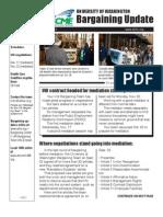 UW/HMC Bargaining Update 11-4-10