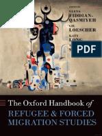 (Oxford Handbooks) E. Fiddian-Qasmiyeh, G. Loescher, K. Long, N. Sigona (eds.)-The Oxford Handbook of Refugee and Forced Migration Studies-Oxford University Press (2014).pdf