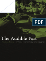 The Audible Past_ Cultural Origins of Sound - Jonathan Sterne