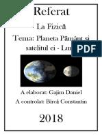 Referat la fizică Planeta Pământ și satelitul ei - Luna.docx