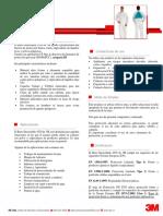 Ficha técnica buzo de papel