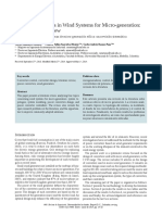 DC-DC Converters in Wind Systems for Micro-generation( Metodologia)