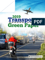 2019 Transport Green Paper for Release May 17(19)