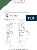 Chapter 10 - Gravitation