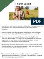 Credit Farming