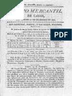 Diario Mercantil de Cadiz 1820