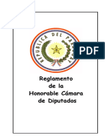 Paraguay Diputados _Reglamento interno.pdf