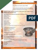 Casting Material ASTM A216 WCC