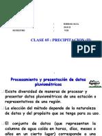 CLASE 4 Precipitacion II