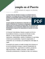 15-May-2019 Buen Ejemplo en El Puerto La Mejor Forma de Enfrentar Al Sargazo Es Articular Todos Los Esfuerzos.